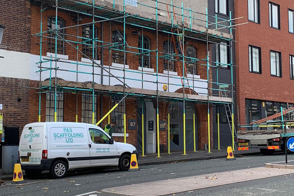 Commercial Scaffolding in Kingstanding